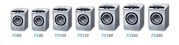 Gamme FX machines à laver professionnelles